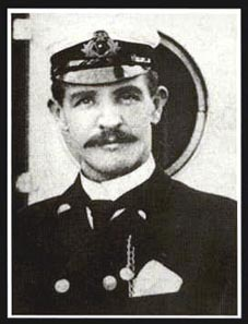Perhaps the most famous picture of William, taken whilst serving on White Star's R.M.S Medic